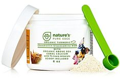 POWERFUL PET HIP  JOINT  with ORGANIC TURMERIC  Natural Ingredients  Triple Strength  Chondroitin  Glucosamine  MSM  Organic Sea Coral Calcium * For more information, visit image affiliate link Amazon.com