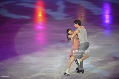 Tessa Virtue and Scott Moir of Canada perform during the Gala Exhibition on day three of Trophee Eric Bompard ISU Grand Prix of Figure Skating 2013/2014 at the Palais Omnisports de Bercy on November 17, 2013 in Paris, France.