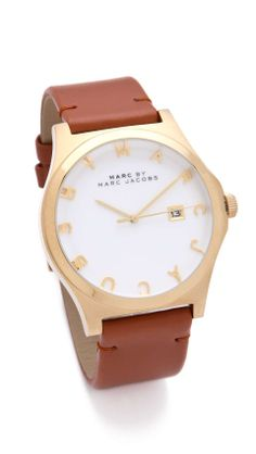MARC by Marc Jacobs Ladies Henry Watch | womens watch | womenswear | style | fashion | love | wantering http://www.wantering.com/womens-clothing-item/ladies-henry-watch/agyHbzRC/
