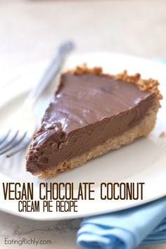 #Vegan | Pye de chocolate y coco