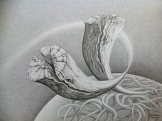 Hemel en Aarde bewegen  2013 Pencil Art, Atelier