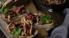Pomalu pečené vepřové maso Foto: