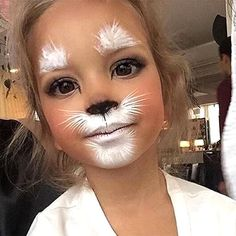 Cat Kids Makeup - Cute Kids Halloween Costumes! Over 25 of the Best DIY Halloween Ideas to inspire you on Trick or Treat night!