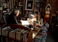 Roger Ebert's office.  So book cozy!