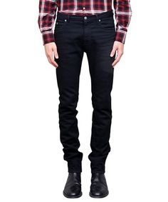 MAISON MARGIELA Black Skinny Jeans. #maisonmargiela #cloth #jeans