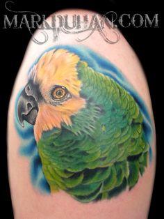 Tatuajes y tattoos Parrot Tattoo, Deviantart, Ink Tattoos, Tattos, Animals, Parrots, Awesome, Ideas, Pintura