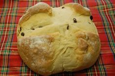 Traditional Irish soda bread with raisins made with all natural ingredients, and baked by Stewart on our own premises. Traditional Scottish Food, Traditional Irish Soda Bread, St Patricks Day Food, Raisin, Appetizers, Snacks, Meals, Baking, Ethnic Recipes