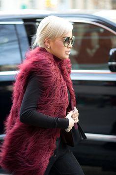 Rita Ora in Tommy Hilfiger   - HarpersBAZAAR.com