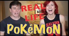 Real Life Pokemon with Brizzy Voices!
