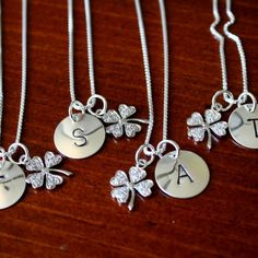 Personalized sterling silver jewelry is a great keepsake gift to give your bridal party to commemorate your happiest day. This personalized ...