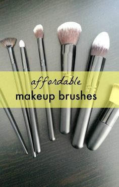 Affordable pro makeup brushes are the most important tool in your makeup kit