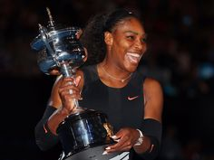 """'I never touched it': Serena Williams tried to deposit her first million-dollar check in the ATM drive-thru - Serena Williams may be one of the highest-paid athletes on earth, according to Forbes — and the only female to crack the top 100 — but she's never been motivated by the money.  """"I've actually never played for money — I just thought you would go out there and hold a trophy,"""" Williams told sports business manager Maverick Carter on the latest episode of Uninterrupted's personal finance…"""