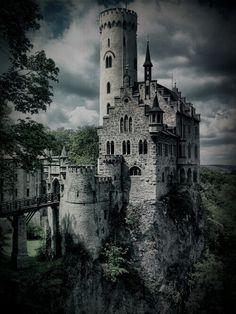 Gothic Castle Lichtenstein - Gothic Architecture on www.trendsi.com