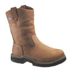 da07acc89376 A Guide to Buying Wolverine Marauder Waterproof Wellington Work Boot Mens  Soft Toe Work Boots EW in Brown)