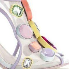 S/S14: SHOES: ARTICLES  Giant gemstones: Sophia Webster