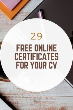 Free Certificate Courses, Online Courses With Certificates, Certificates Online, Learning Websites, Educational Websites, Educational Activities, Best Online Courses, Free Courses, Online College