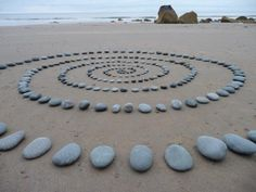 A work from the World Beach Project, by Clare Hutchinson, Porth Ysgo, 19 October 2011
