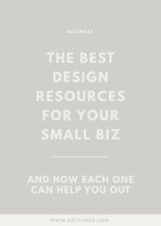 Creative Business   Design Resources   Branding & Website   Small Biz