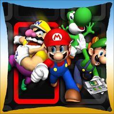 $0.99 Super Mario Bros Luigi Waluigi Yoshi Pillowcase Only MLPW3851 | eBay