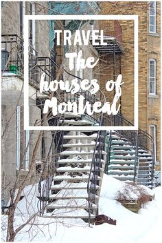 A tour of the beautiful houses of Mont Royal, Montreal. Join me for a walk through all the colours!