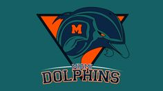 Miami Dolphins Logo by Max Hopmans, via Behance