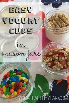 Easy Yogurt Cups (wi