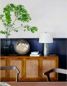 Love the blue glass vase and the lamp base. Where to find?