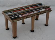 Hockey Bench by Chair Built Custom Woodworking - Products
