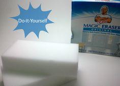 "DIY Magic Eraser....make your own ""magic eraser"" at home!"