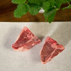 Lamb Porterhouse | $37 for 2. Two Chops per order. These 6 oz Lamb Porterhouse Chops are lean with an abundance of flavor. Available at: manykitchens.com