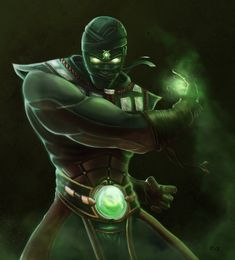 Ermac from Mortal Kombat done for the artjam mty now lets get annie done any comment would be appreciated Ermac Character Concept, Character Art, Concept Art, Reptiles, Noob Saibot, Haute Tension, Immortelle, Mortal Kombat Art, Mortal Combat