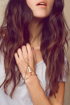 Loving arrow themed jewelry and this bracelet ring combo is so cool, chic and unique! Called a gauntlet I believe?