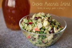 Avocado Chicken Salad (YUM!)