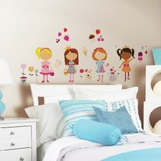 Girly Girls Wall Decals