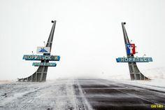 The Needles on the Alikel-Norilsk Road
