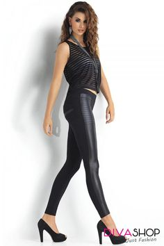 Spandex 15 % Polamid 85 % Size Hips width L cm M cm S cm XL cm Tight Leggings, Leather Pants, Tights, Spandex, Street Style, Ootd, Outfit, Shopping, Women