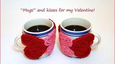 Crochet Tutorial: String of Hearts Cup Cozy