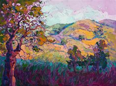 Paso Robles collectible oil paintings for sale by Erin Hanson