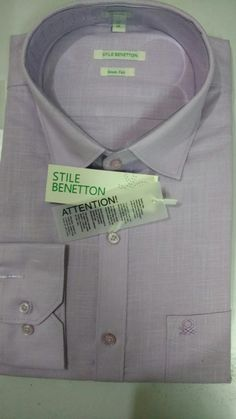 Stile Benetton Original Pink Shirt, MRP- Rs 2799 | Branded Products For Sale Call / Whatsapp @ +919560214267.