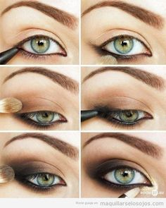 Fotos de moda    15 tutoriales de como maquillar ojos ahumados   http://fotos.soymoda.net