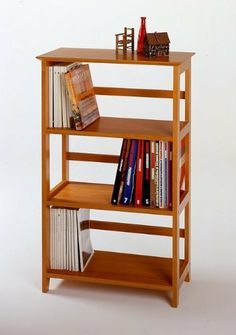 Winsome Wood 4-Tier Bookshelf, Honey [Kitchen] MPN: 99342 by TDM. $84.00. Some assembly may be required. Please see product details.. Offering substantial storage space with a polished and sleek look, the bookshelf is perfect for holding extra computer supplies. Mix and match with the rest of the Studio Home Office line. MPN: 99342