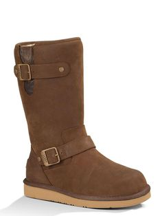Ugg Australia Sutter Calf Boots Toast Brown Leather: Brown - CureUK.com