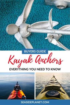 Are you looking for the Best Kayak Anchor of We\'ve got your covered with 10 great options that perform well and don\'t break the bank! San Juan Island Camping, Kayak Anchor, Kayak For Beginners, Kayak Fishing Accessories, Camping Water, Kayaking Tips, Kayak Adventures, Bowfishing, Boat Plans
