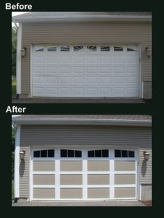 17 best garage door before after images on pinterest garage door garage door before after carriage house collection publicscrutiny Image collections