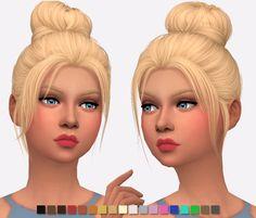 Sims 4 Hairs ~ Simlish Designs: Nightcrawler`s Impulse Hair Retextured Sims 4 Cc Skin, Sims Cc, Messy Bun Hairstyles, Cool Hairstyles, Sims Hair, The Sims 4 Download, Sims 4 Game, Sims 4 Update, Sims 4 Cc Finds