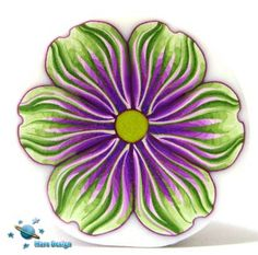 Green and purple flower cane | Flickr - Photo Sharing!