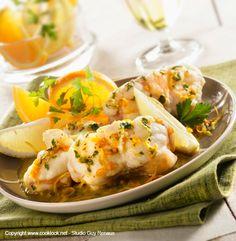 Queue de lotte orange et jaune : Recettes de cuisine - recettes faciles - recettes rapides