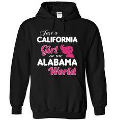 A CALIFONIA-ALABAMA girl Pink04 - #hostess gift #husband gift. LIMITED AVAILABILITY => https://www.sunfrog.com/States/A-CALIFONIA-2DALABAMA-girl-Pink04-Black-Hoodie.html?68278