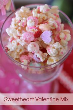 Sweetheart Valentine Mix. A fun treat the whole family will love!