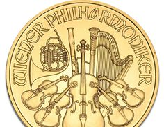 Austrian Gold Wiener (Vienna) Philharmonic Coins Select Gold Philharmonics for an excellent value in pure gold bullion. Austrian Gold Philharmonics Coins are struck in Fine Gold and are highly sought after in Europe, North America and Japan alike.